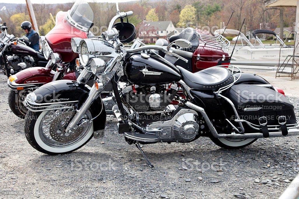 Foto De Harley Davidson Classica Estrada Cama Kingsize E Mais Fotos De Stock De Assento De Motorista Istock