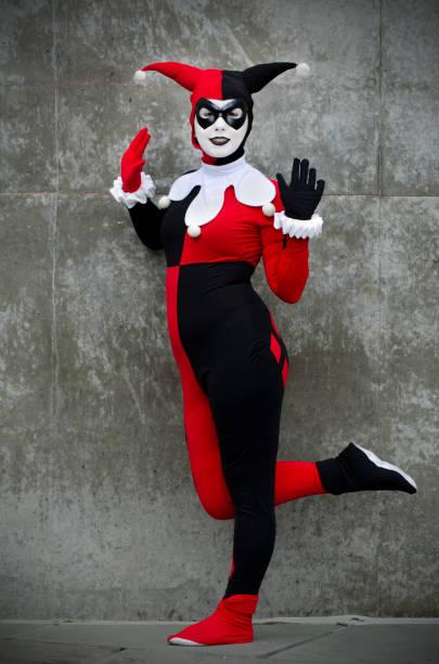 Harley Quinn de Batman - foto de stock