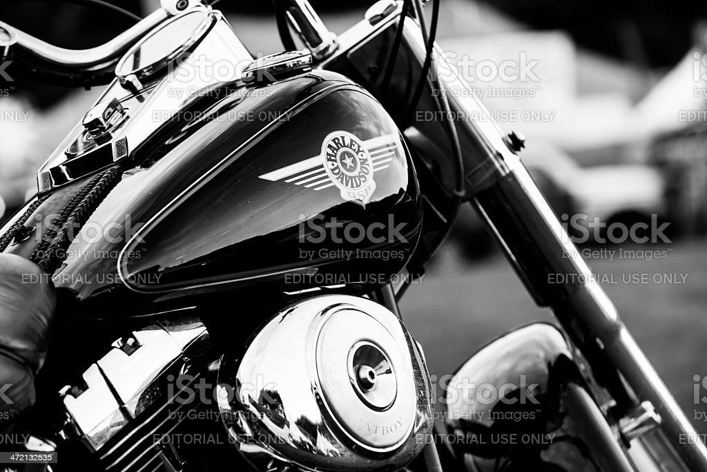 Harley-Davidson Motorcycle Sign stock photo
