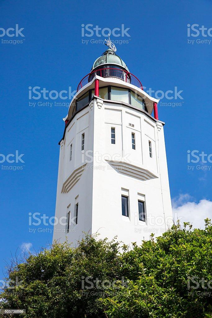 Harlingen old lighthouse, Friesland, the Netherlands stock photo