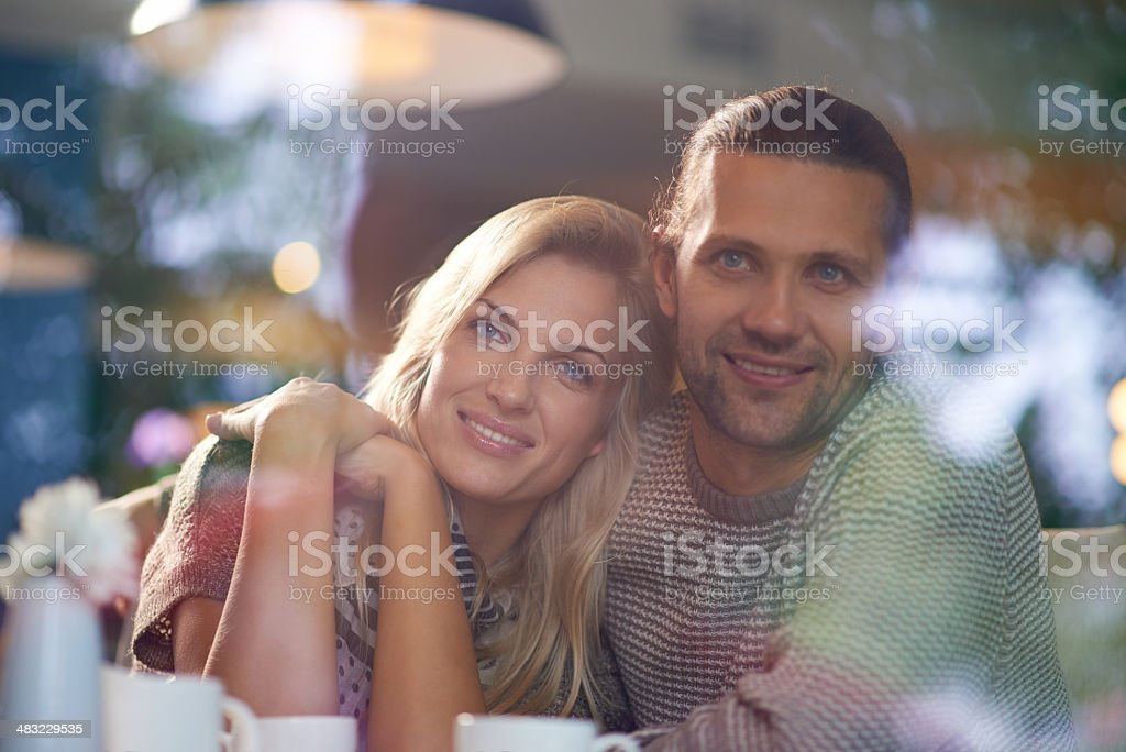 Harmony in relationship royalty-free stock photo