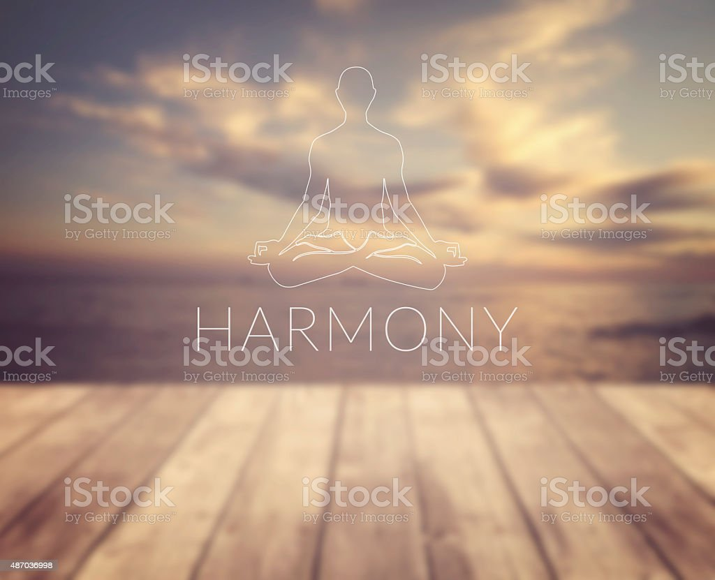 Harmony stock photo
