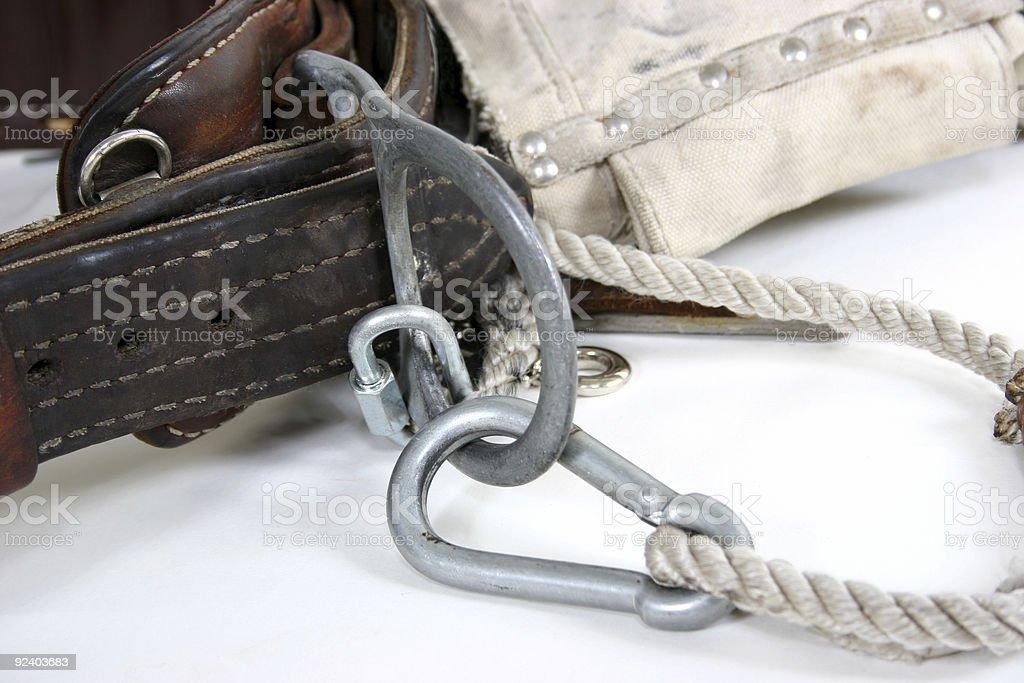 Harness belt royalty-free stock photo