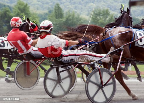 Harness Race2 Stock Photo & More Pictures of Activity