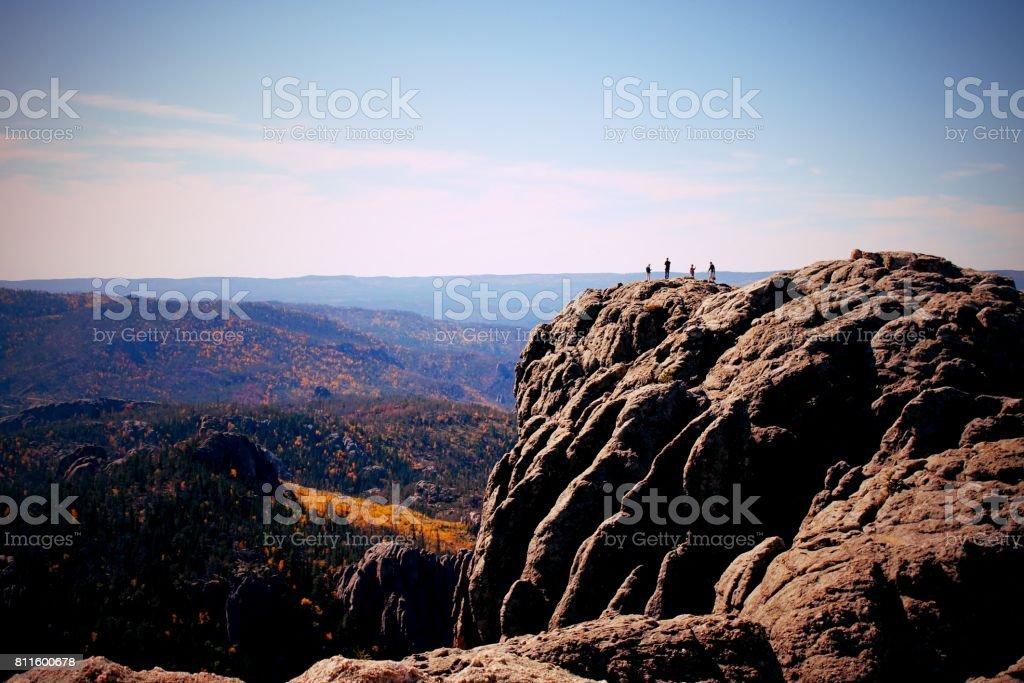 Harney Peak stock photo