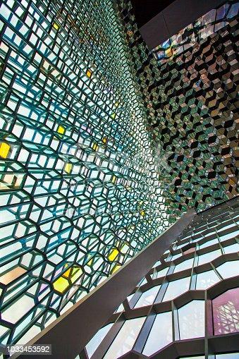 istock Harpa concert hall reykjavik iceland interior 1033453592