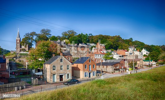 Historic Harpers Ferry is where John Brown's Raid took place.