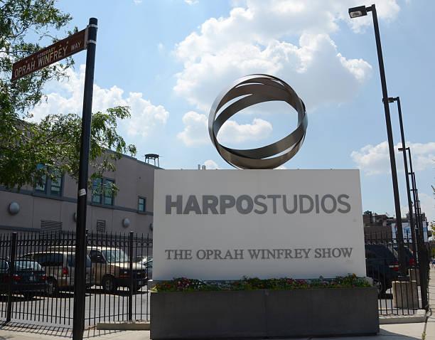 Harpo Studios, Chicago stock photo