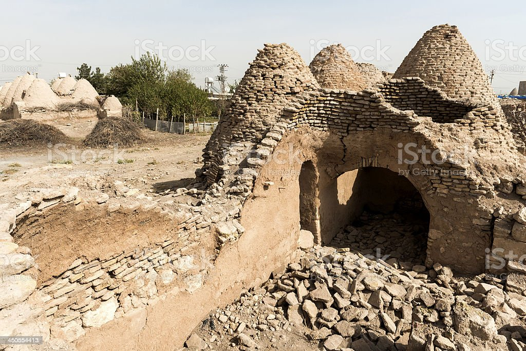 Harran Houses royalty-free stock photo