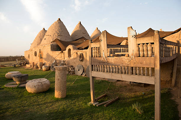 Harran Houses, Sanliurfa, Turkey stok fotoğrafı