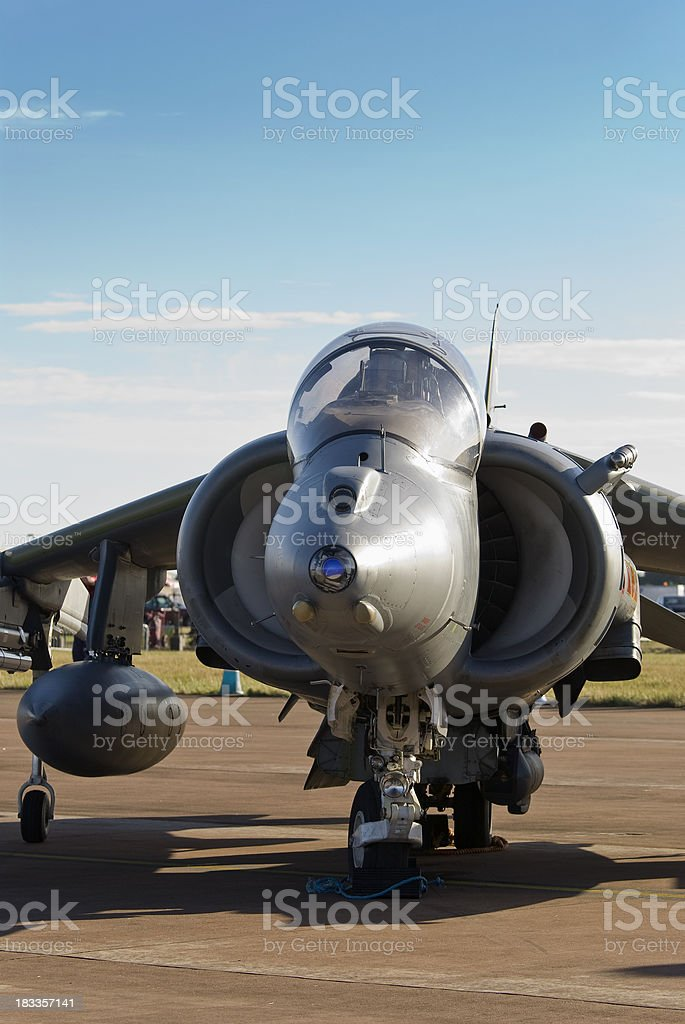 Harrier GR7 'jump-jet' royalty-free stock photo