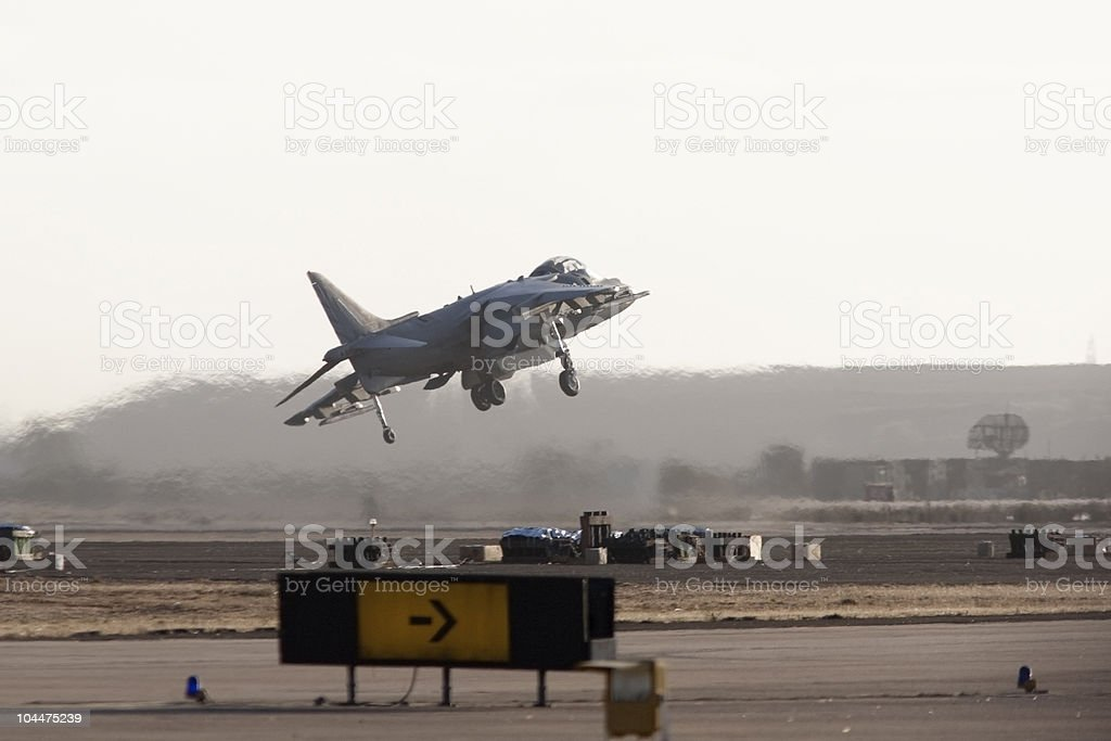 Harrier Jump Jet royalty-free stock photo