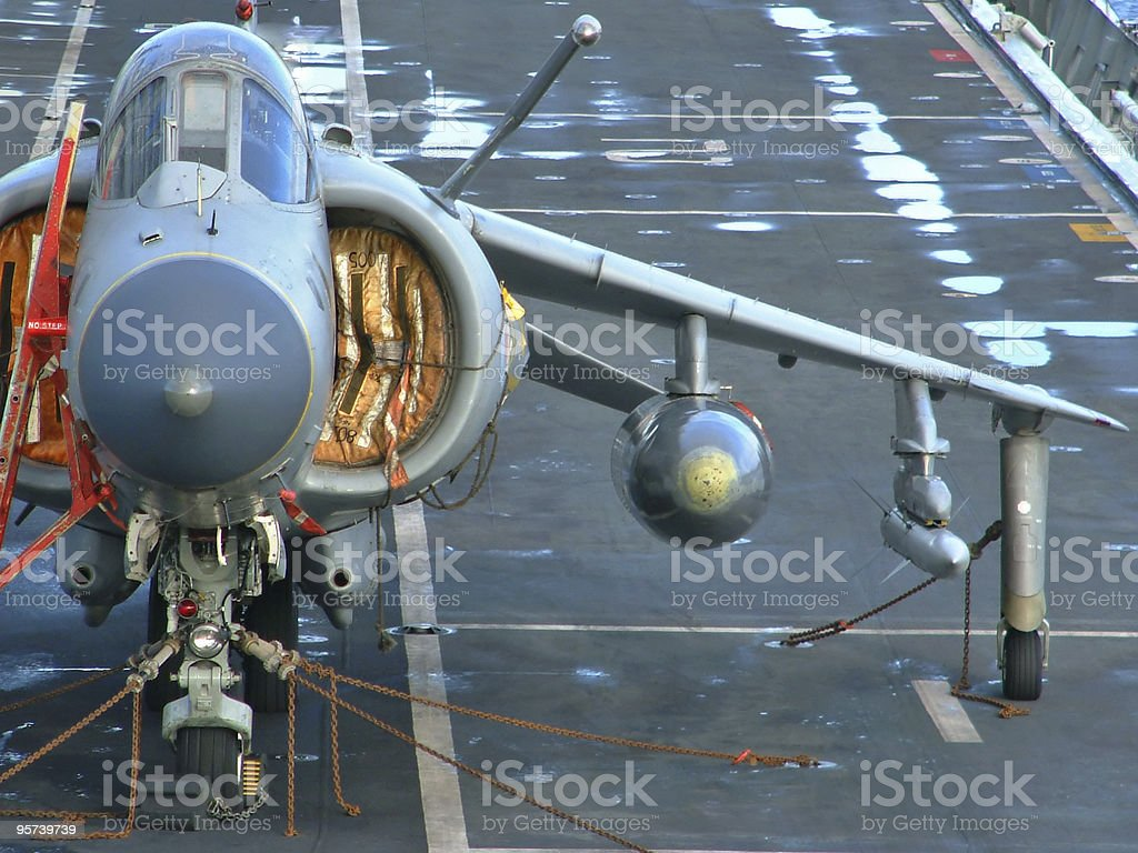 Harrier Jumpjet royalty-free stock photo