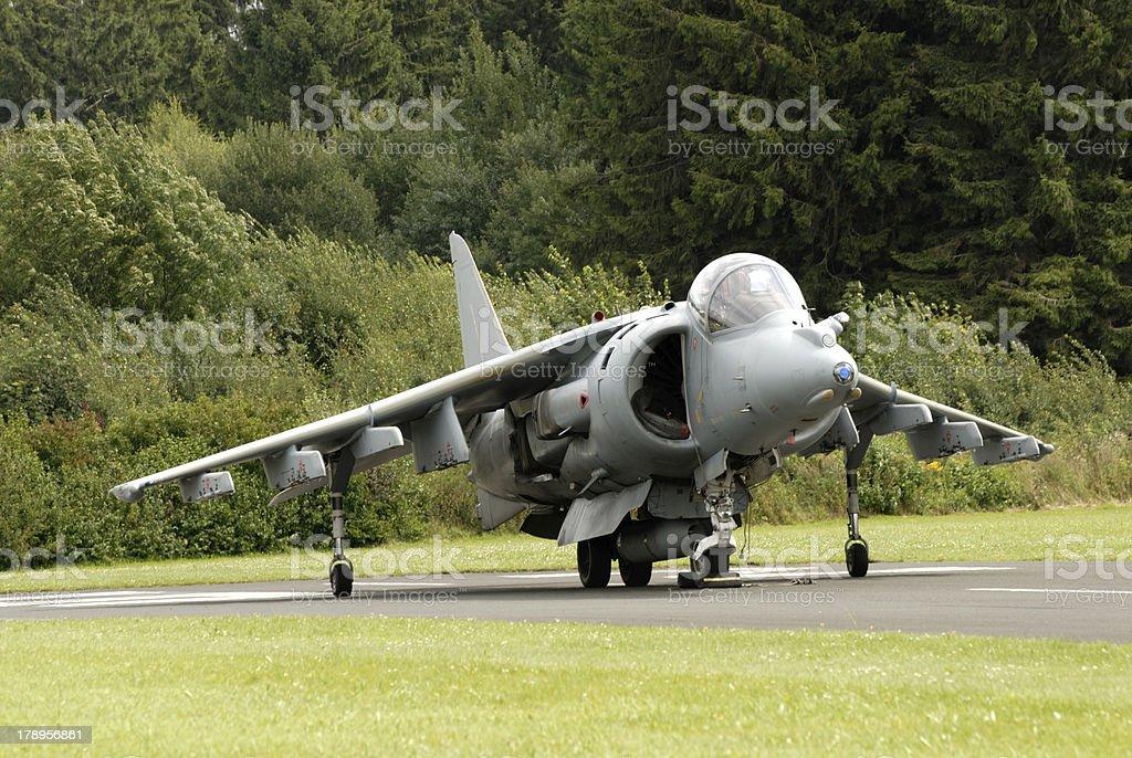 AV-8B Harrier royalty-free stock photo