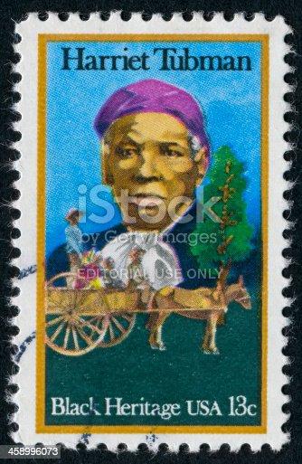 istock Harriet Tubman Stamp 458996073