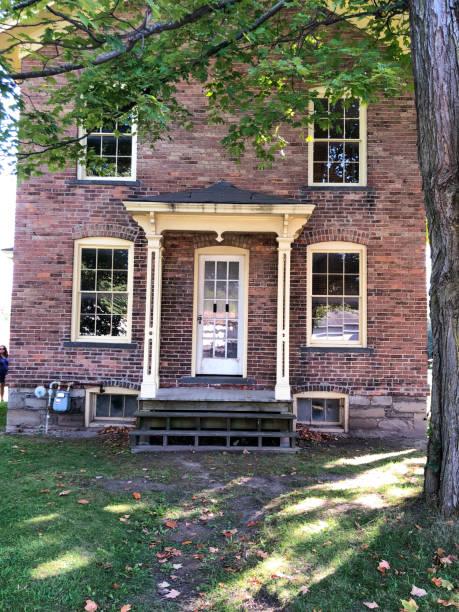 Harriet Tubman's childhood home in Auburn NY stock photo