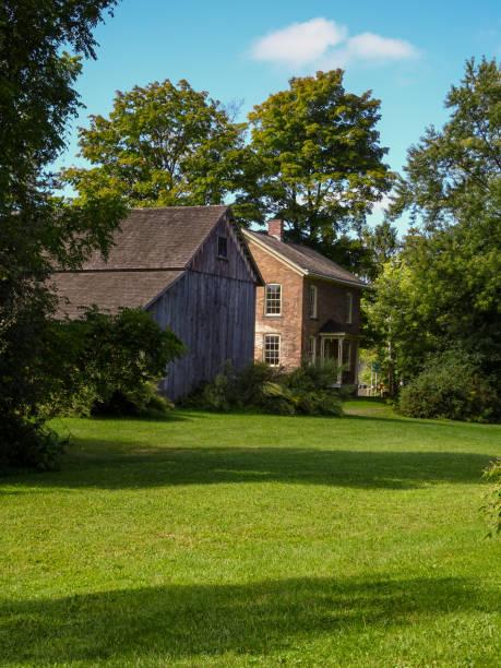 Harriet Tubman's childhood home stock photo
