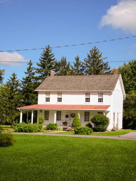 Harriet Tubman's home stock photo