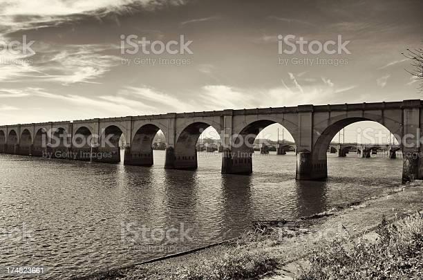Harrisburg Pennsylvania USA , Bridges over the Susquehanna River, Waterfront Park
