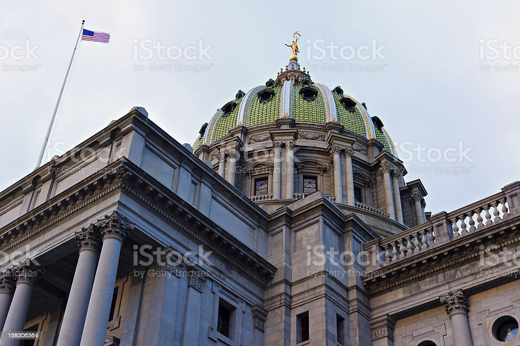 Harrisburg - State Capitol Building stock photo