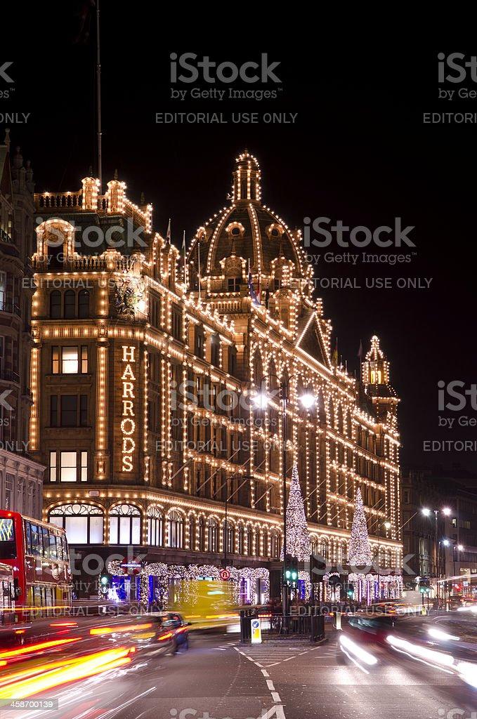 Decorazioni Natalizie Londra.Grandi Magazzini Harrods Decorazioni Di Natale Di Londra