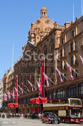 1125782554 istock photo Harrods department store, London 459011195