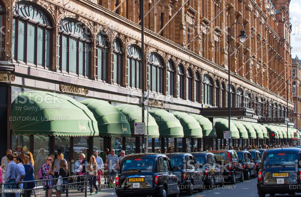 Harrods department store. London UK stock photo