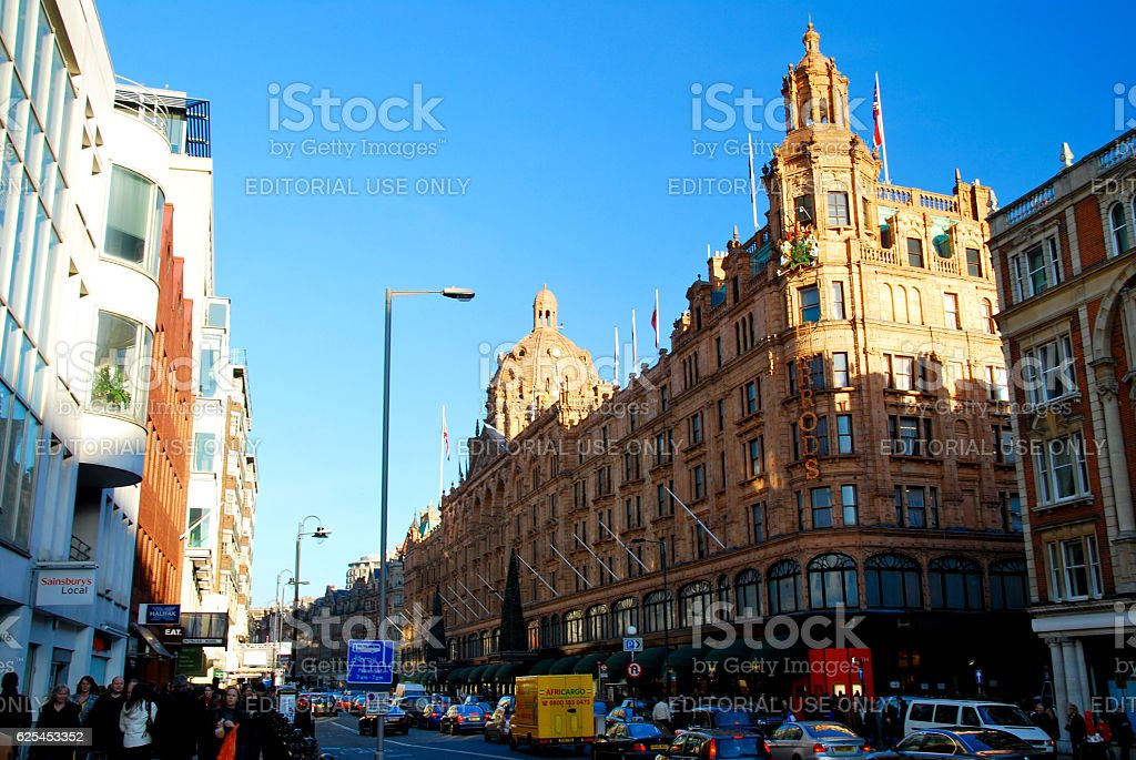 Harrods, Famous Department Store stock photo