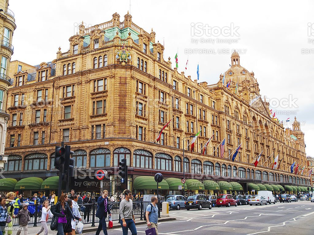 Harrods, London stock photo