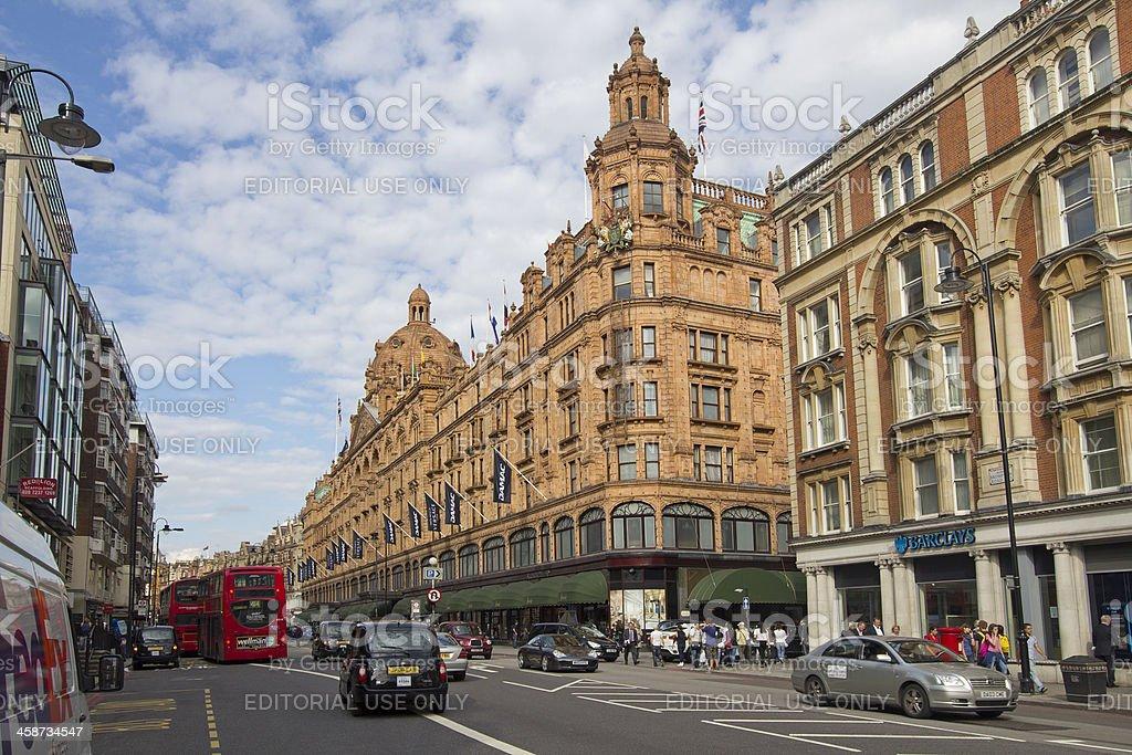 Harrods, London stock photo