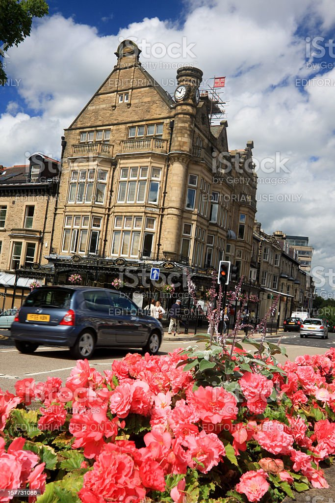 Harrogate in North Yorkshire, England royalty-free stock photo