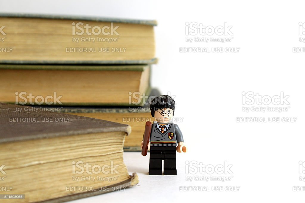 Harry Potter and Books stock photo