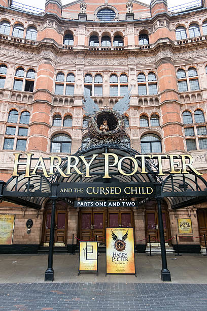 harry potter and the cursed child theatre - cursed stock pictures, royalty-free photos & images