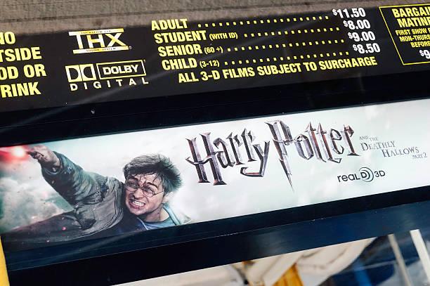 harry potter sign board
