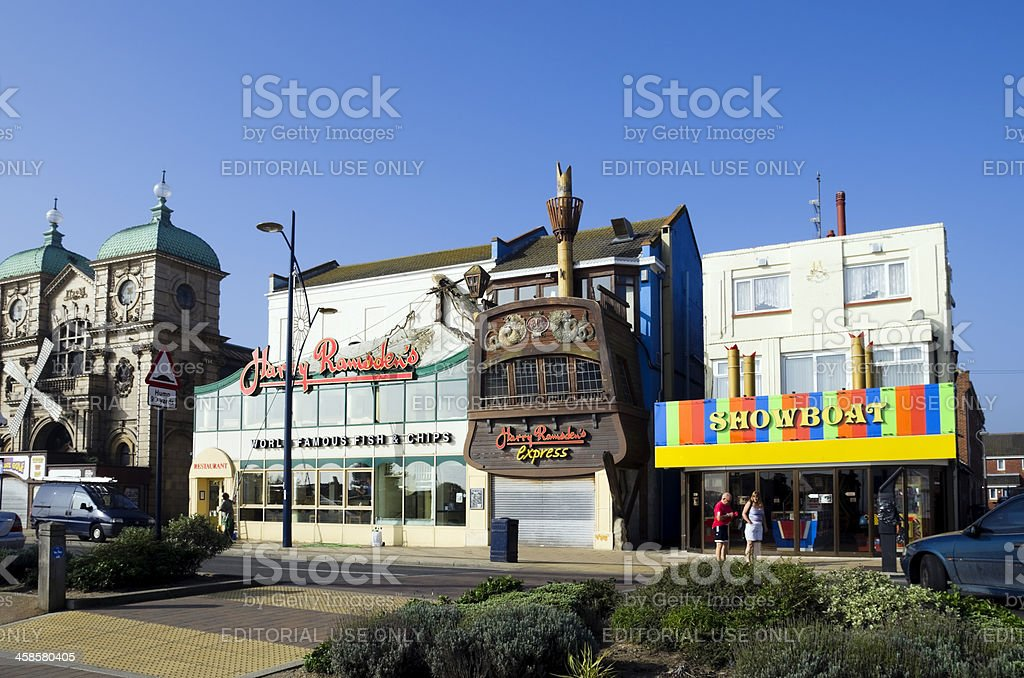 Harry Ramsden's on Great Yarmouth seafront royalty-free stock photo
