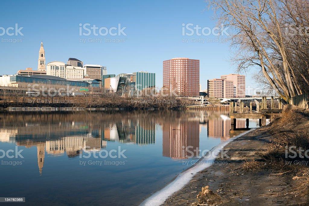 Hartford Connecticut stock photo