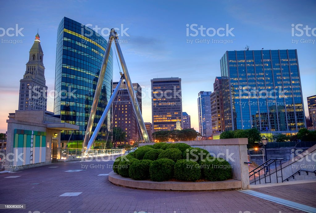Hartford Connecticut royalty-free stock photo
