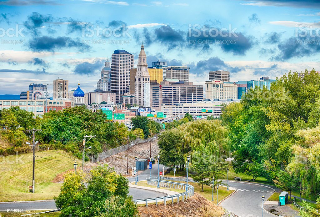 Hartford, Connecticut stock photo