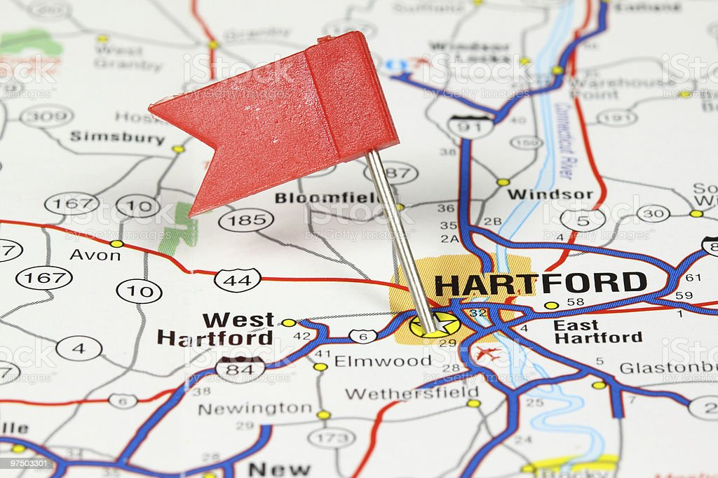 Hartford, Connecticut royalty-free stock photo