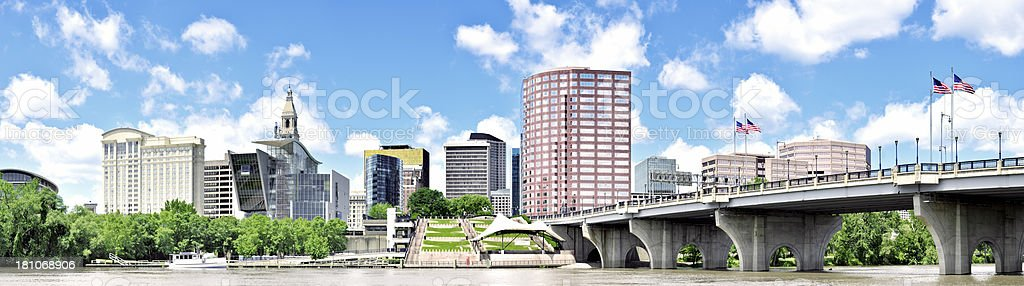 Hartford CT stock photo