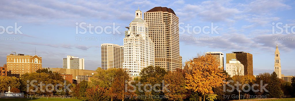 Hartford panorama stock photo