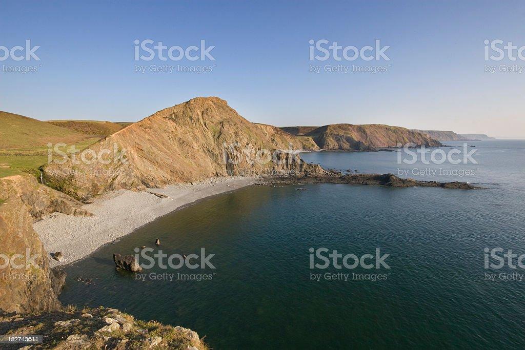 Hartland Point stock photo