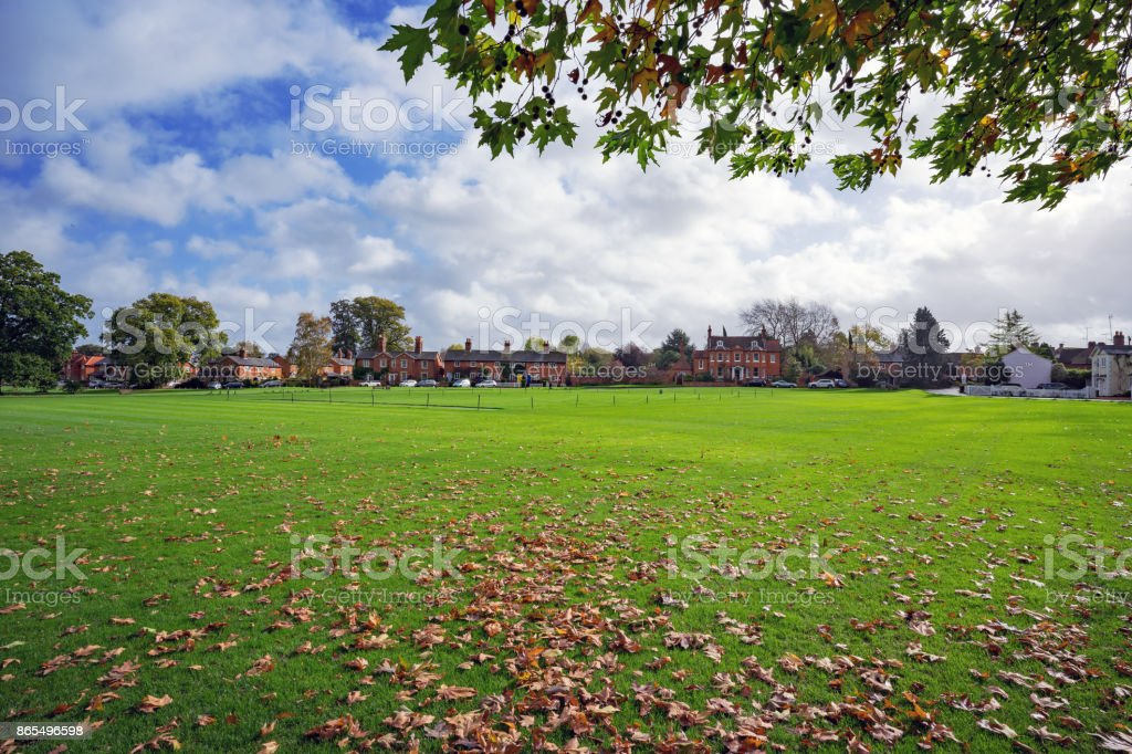 Hartley Wintney in Hampshire, UK stock photo