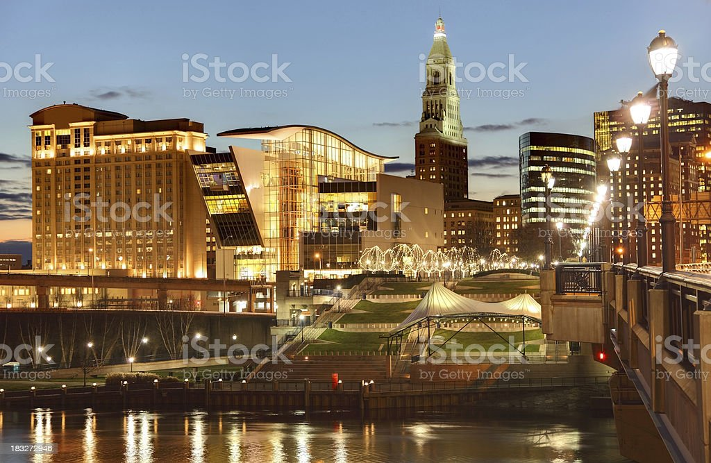 Hartord Connecticut stock photo