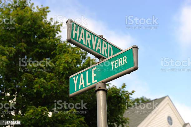 Harvard And Yale Stock Photo - Download Image Now