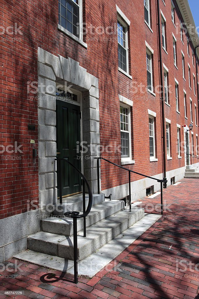 Harvard Square, Cambridge stock photo