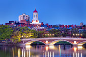 Harvard University along the Charles River