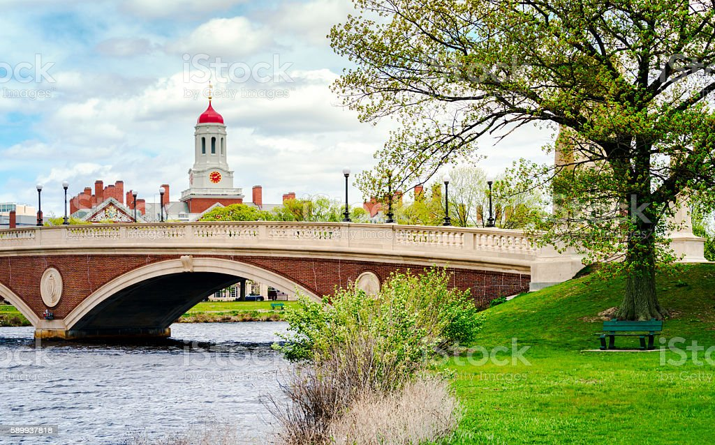 Harvard University stock photo