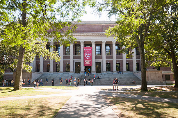 Harvard University Widener Bibliothek – Foto