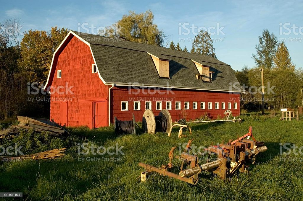 Harvest - Barn 3 royalty-free stock photo